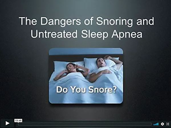 link for Sleep Apnea video